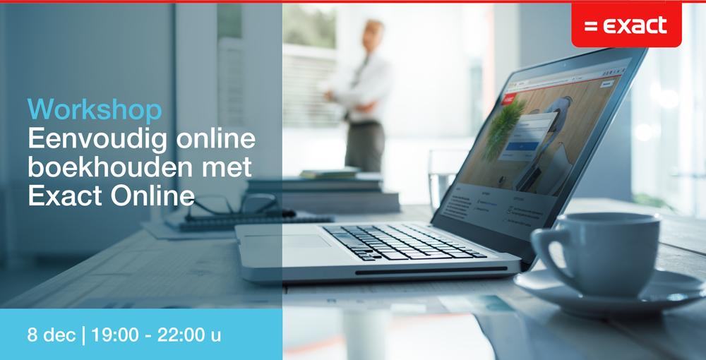 B4 Accountants & belastingadviseurs workshop Exact online