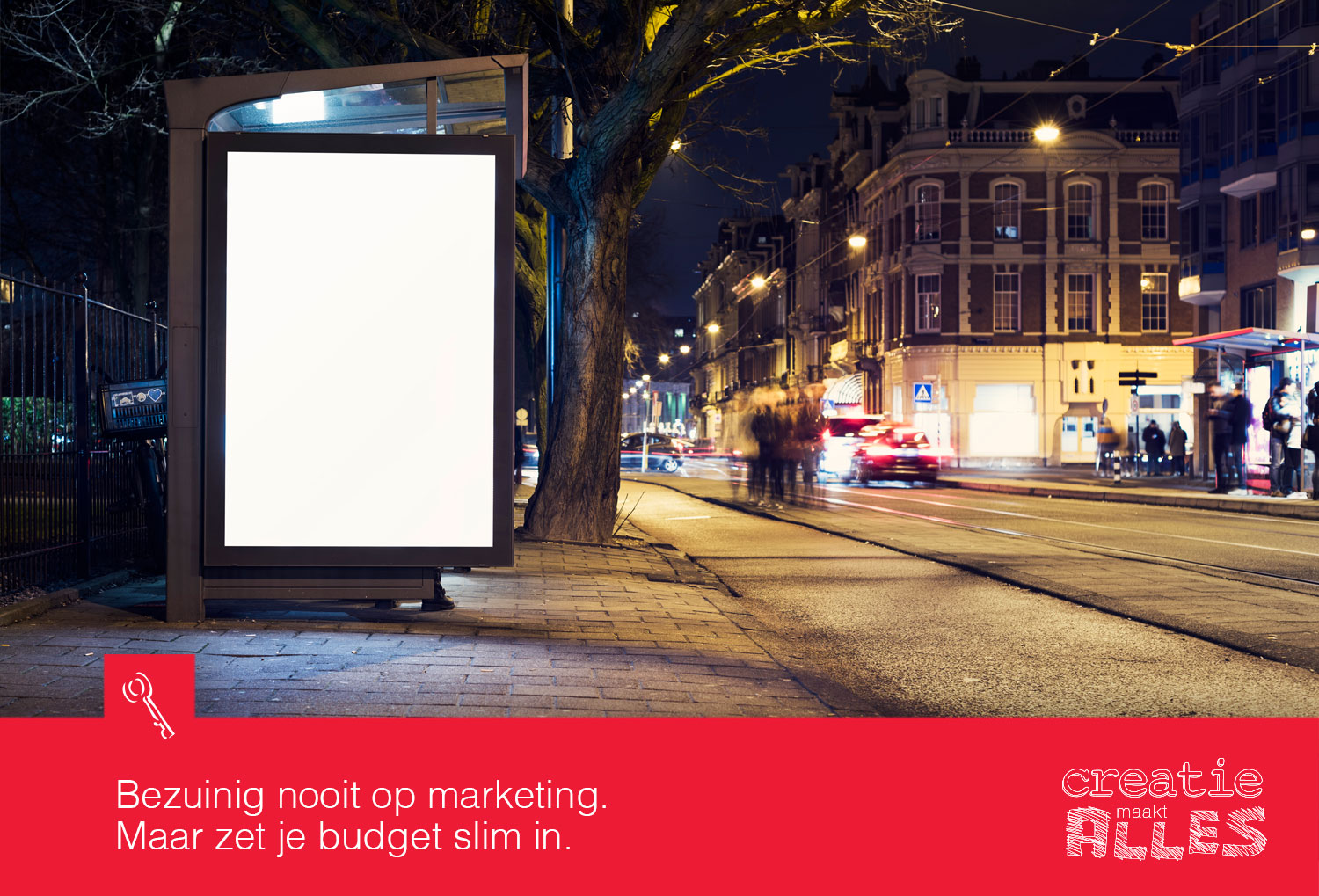 Bezuinigen op marketing?