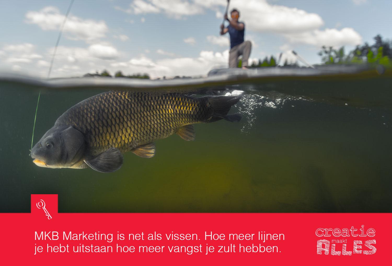 Marketing heeft alles te maken met vissen.
